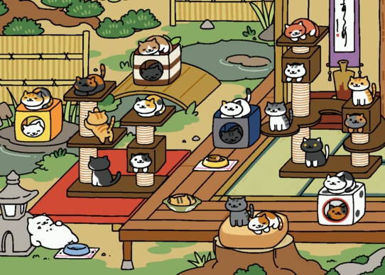 japanese cat luring sensation neko atsume is finally available in english macworld. Black Bedroom Furniture Sets. Home Design Ideas