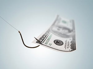 phishing money