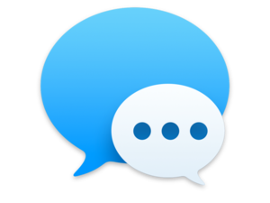 messages mac icon