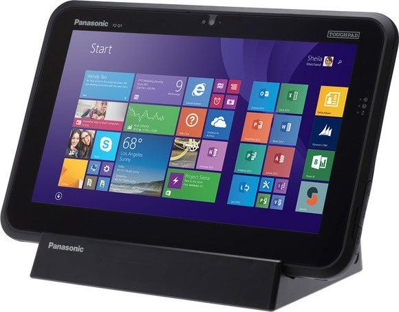 Panasonic toughpad angle