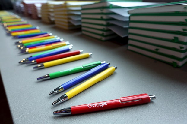 google logo pens