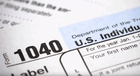 Internal Revenue Service IRS tax filing form 1040