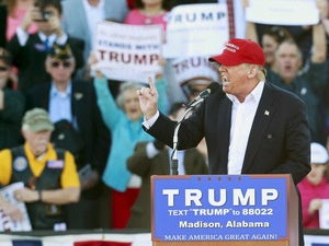 Trump rally in Alabama