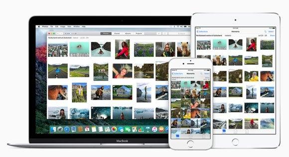 icloud photo library ipad iphone mac