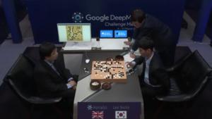AlphaGo first game in Seoul