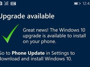 windows 10 mobile upgrade success