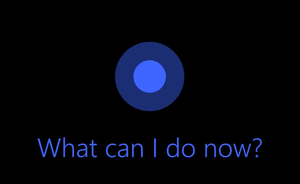 cortana what now