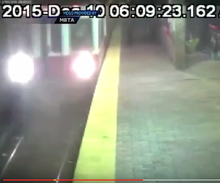 Take a look at Boston's runaway train barreling through two stops without a driver