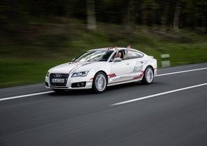 audi a7 autonomous car