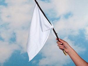 truce white flag