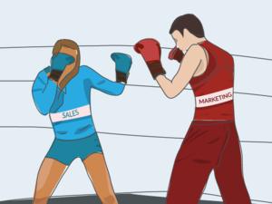 sales vs marketing  teams