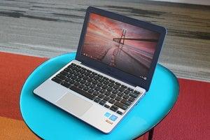 asus chromebook c202s 3qtr