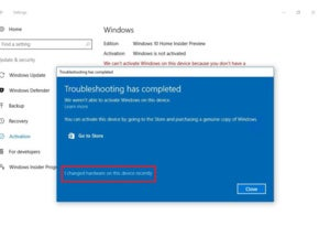 windows 10 hardware troubleshooting feature