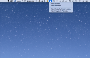 el capitan menu bar