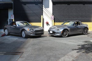2017 fiat 124 spider vs 2016 mazda mx 5 miata