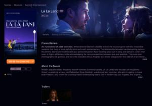 itunes store movie rentals