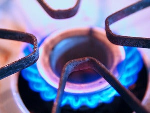 gas burner stove heat hot flame